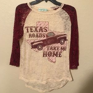 Texas roads shirt 🌟
